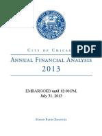 AFA Budget 2013
