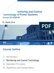 Monitoring and Control Technology