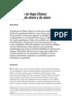 El gobierno de Hugo Chávez populismo de otrora o de ahora