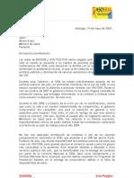 Declaración Asosida y Vivo Positivo - 19 de mayo de 2009