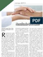Artigo No O Jornal Batista 28-07-13