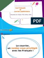 Les Francais Et Le Courrier Publicitaire Edition 2008