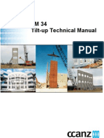 TM34 Tilt Up Technical Manual