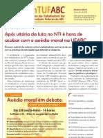 Boletim SinTUFABC 04 (31 de julho de 2013)