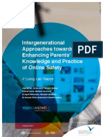 Intergenerational Attitudes Towards Enhancing Parents' Knowledge and Practice on Online Safety