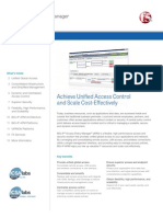 Big Ip Access Policy Manager Datasheet