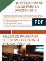 Presentacion Del Taller de Estimulos
