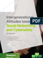 Intergenerational Attitudes Towards Social Networking and Cybersafety