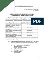 Medical - Appeal Procedure DGCA