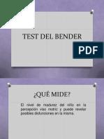 PRESENTACIÓN DE BENDER