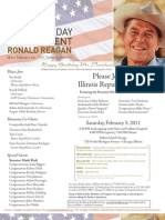 100th Birthday of President Ronald Reagan for Illinois Republican Party