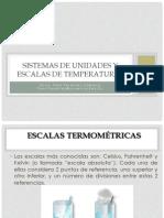 Sistema de Medidas y Temperaturas