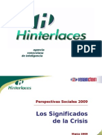 PERSPECTIVAS SOCIALES 2009 - VENAMCHAM (25-03-2009)