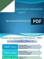 Núcleo de Capacitação ministerial
