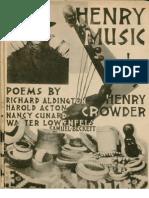 Henry-Music - Henry Crowder