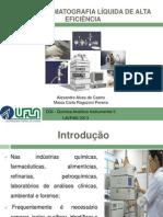 HPLC – Cromatografia líquida de alta eficiência Pronta