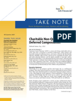 Charitable Non-Qualified Deferred Comp
