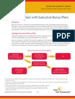 Executive Bonus Plans