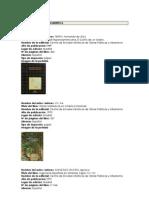 BIBLIOGRAFIA LATINOAMERICA