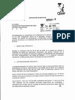 Proyecto Ordenanza Modificatoria de FEDESCESAR