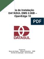 Guia de Instalacao Datasul Ems 2.06b-Oe10
