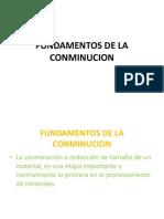 16 Presentación Nº 16 Fundamentos de Conminucion