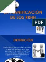 PLANEACIÓN DE LOS RH