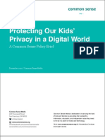 Protecting Our Kids' Privacy in a Digital World