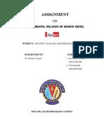 Fundamental Analysis of Airtel Report