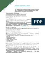 MANUAL DE PROCEDIMIENTOS DE ATENCIÓN AL CLIENTE