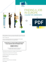 Finding  a Job in Europe