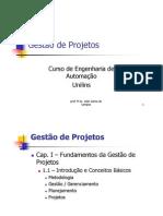 Cap.I - 1.1 - Introduo - Fundamentos Da Gesto de Projetos v2