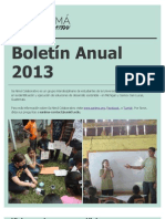 Sa Nimá Colaborativo Boletín Anual 2013