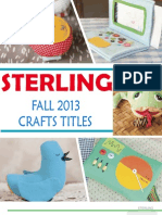 Sterling Fall 2013 Crafts Titles