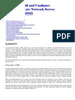 Panduan Install & Configure VPN Server Win 2000