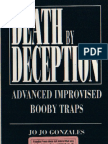 Death by Deception - Advanced Improvised Booby Traps - Jo Jo Gonzales (Paladin Press)