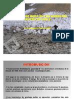 Angulo de Friccion Interna Glaciares