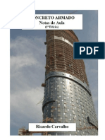 APOSTILIA DE CONCRETO ANMADO (PROFº RICARDO )