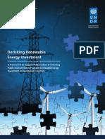 UNDP Derisking Renewable Energy Investment