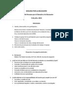3jul13 Síntesis de Dialogo CPDE