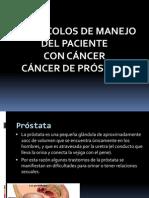 Protocolo CA Prostata Diapositivas