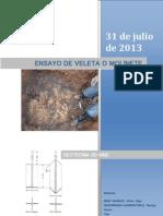 Geotecnia-Ensayo de Veleta
