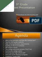 9thgradeSTUDENTpresentation2010-2011