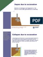 Collapse Due Excavation