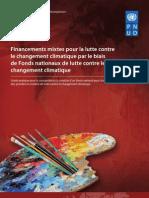 Financements mixtes pour la lutte contre  le changement climatique par le biais  de Fonds nationaux de lutte contre le  changement climatique