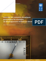 Formuler des scénarios climatiques pour éclairer les stratégies de développement résilient au climat