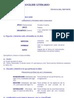 32667408 Estructura de Analisis Literario