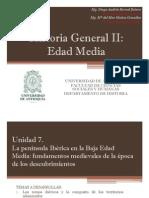 Unidad 8 La Península Ibérica en la Baja Edad Media (Avances)