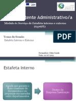 Módulo Serviço de Estafeta interno e externo Ct2