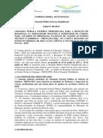 PDF Edital 003-2013  Pronatec - Seleção Externa